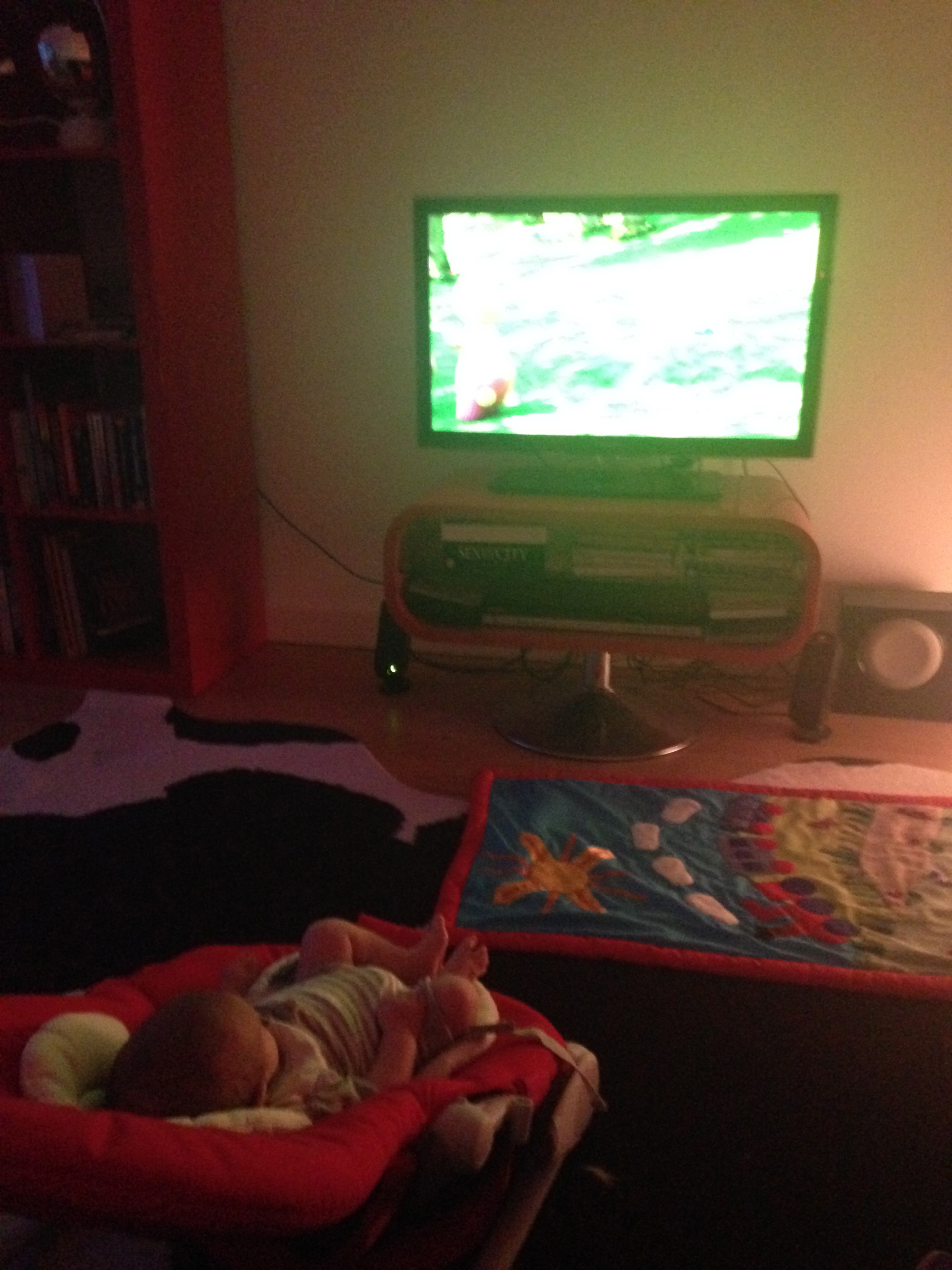 Piglet is ten weeks old, and I find myself asking the question, how much TV is too much?