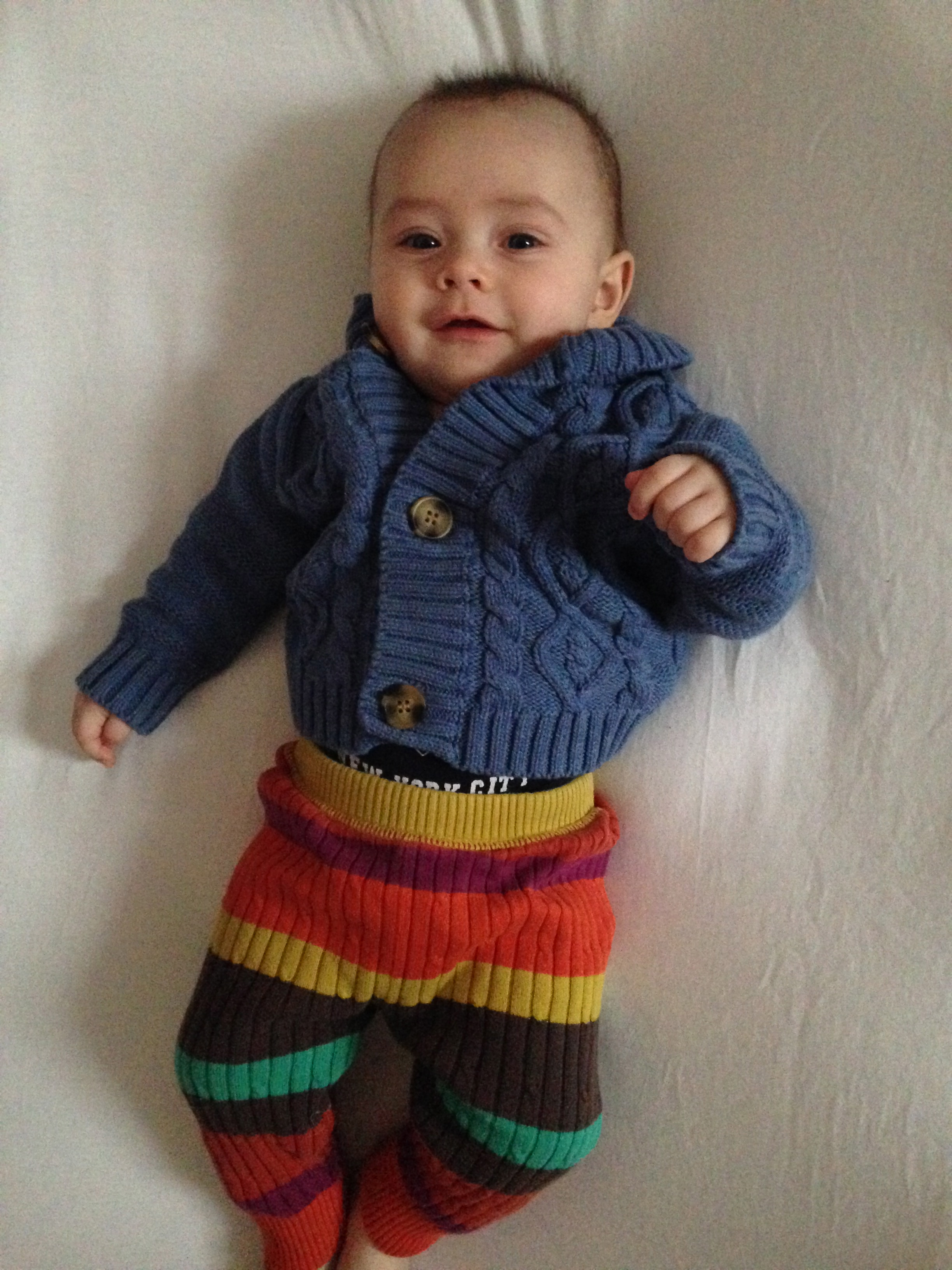 And the winner of the Best Dressed Baby Award is….
